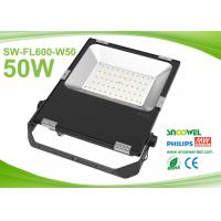 China Black IP65 SMD 50 Watt Led Flood Light Waterproof High Power on sale