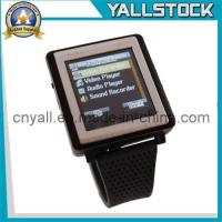 Wholesale AK810 Tri-Band Bluetooth Touch Screen Watch Cell Phone Black (E03622) from china suppliers