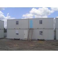 Wholesale Durable Pu Sandwich Panel Steel Mobile Office Containers 20ft Modular House from china suppliers