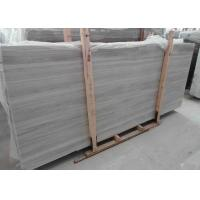 Wholesale Square Light Grey Marble Stone Slab Natural Stone Floor Tiles With Random Edge from china suppliers