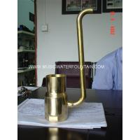 "Wholesale Brass Material Pond Fountain Nozzles Size 4"" For Garden Water Features Bubble Effect from china suppliers"