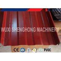 Wholesale Self Lock Sheet Roof Roll Forming Machine , Roof Panel Roll Forming Machine from china suppliers