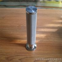 Wholesale 5-layer sintered wire mesh tube pipe cartridge from china suppliers