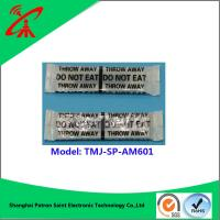 Wholesale OEM Black Soft Eas Security Labels / Magnetic Anti Theft Tags 58khz from china suppliers