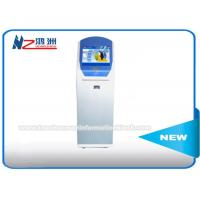 Wholesale Floor Standing Ticket Vending Machine Kiosk , Card Reader Fast Ticket Machine Locations from china suppliers