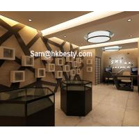 Wholesale manufacture of jewelry kiosk used jewelry display furniture glass jewelry showcase from china suppliers