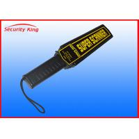 Wholesale Long Rang Rechargeable Portable Metal Detector Handheld Body Scanner High Sensitivity from china suppliers