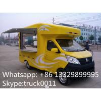 Wholesale Factory direct sale mobile ice cream truck for sale with metal painting and washing basin, Chang'an mobile food truck from china suppliers