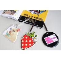 Wholesale Different Design Soft PVC Luggage Tag Printable For Business Gifts from china suppliers