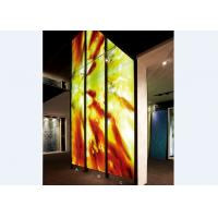 Wholesale Handcrafted Decorative Glass Wall Panels / Partition , Colored Decorative Glass from china suppliers