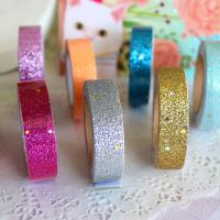 Wholesale Prisamatic High Quality Custom Adhesive Glitter Tape For Handicrafts Decoration from china suppliers