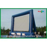 Wholesale Custom Made Inflatable Movie Screen Outdoor Inflatable Projection Screen from china suppliers