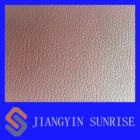 Wholesale Brown Semi PU Embossed Chair Faux Leather , Quilted Faux Leather Fabric Woven from china suppliers