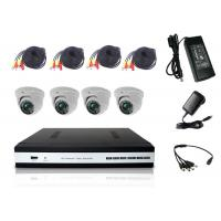 Wholesale VGA / HDMI Video Out 4 Channel DVR Kit DVR Home Security System With AHD Dome Camera from china suppliers
