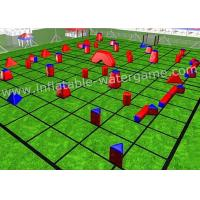 Wholesale Popular 46PCS Inflatable Paintball Airball Bunkers Field For CS Game from china suppliers