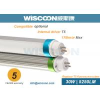 Wholesale High Lumen T5 LED Replacement Lamps , IP44 LED T5 5ft Tube Lights 30 W Power from china suppliers