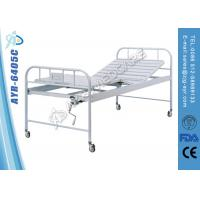 Wholesale Single Crank Medical Manual Hospital Bed Back Section Adjustable from china suppliers