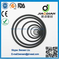 Wholesale Black Rubber Seals O-Rings with SGS RoHS FDA Certificates AS568 Standard (O-RINGS-0012) from china suppliers