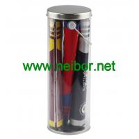 Buy cheap Clear PVC pail PET bucket Plastic tube for color flags packaging from wholesalers