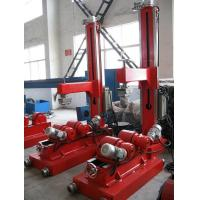 Wholesale 10T Normal Pipe Rotator Use Rubber Wheels Silk Screw Press  Elbow  VFD Change Rolling Speed from china suppliers