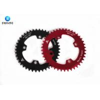 Wholesale 42 Tooth Mountain Bike Chainring With Black / Red Aluminum Alloy from china suppliers