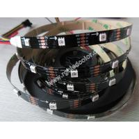 Wholesale full color led strip apa102 48LED/m black white pcb from china suppliers