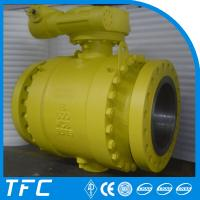 Wholesale double flanged carbon steel gas ball valve from china suppliers