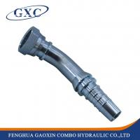 Buy cheap 24243 Forged 45 degree ORFS female flat seat hydraulic hose end fittings from wholesalers