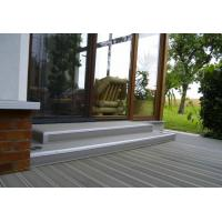 Wholesale Grey Polishing WPC Decking Flooring Eco-friendly For Indoor / Outdoor Decoration from china suppliers