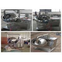Wholesale 800×600×900mm Chocolate Tablet Coating Machine Adjustable Rotational Speed from china suppliers