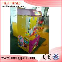 Wholesale Coin operated crane claw machine/candy vending prize game machine/2016 hottest indoor products(hui@hominggame.com) from china suppliers