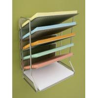 Wholesale Office Magazine Display Racks Desk Organizer With 6 Tray from china suppliers