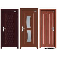 Wholesale Eco-friendly Wood PVC Doors with Handles , Rubber Seal , Locks from china suppliers