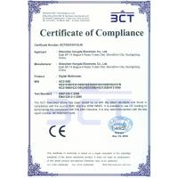 Shenzhen Hongda Electronic Co., Ltd. Certifications