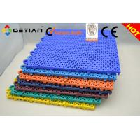 Wholesale Environmental Plastic Flooring Sheet Interlocking Plastic Athletic Floor Mats Tiles With Warranty 10 Years from china suppliers