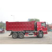 Wholesale CNTCN HOWO 6x4 tri axle dump trucks with 30 tons Capacity 371 HP engine from china suppliers