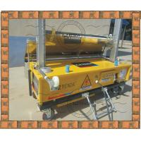 Wholesale Exterior Concrete Wall Coating Plaster Machine 4mm - 30mm Thick from china suppliers