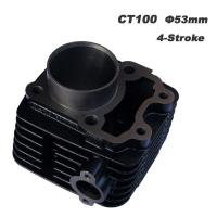 Wholesale Bajaj Boxer Ct100 53mm Motorcycle Spare Parts , Motorcycle Cylinder Oem Motorcycle Parts from china suppliers