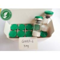 Buy cheap GHRP-6 White Lyophilized Peptide Powder GHRP-6 For Bodybuilding CAS 87616-84-0 from wholesalers