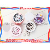 Wholesale Sugar Free Chewy Milk Candy Hole Shape , Chewy Fruit Flavored Candy Sour Strawberry from china suppliers
