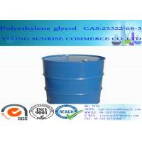 Wholesale Polyethylene Glycol PEG 600 Synthetic Organic Polymer 170-208 Mg KOH/g Hydroxyl value from china suppliers