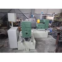 China PLC Control Elbow Beveling Machine , 1.5KW Hydraulic Pipe Fitting Machine on sale