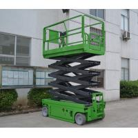 Quality 4 x 2 Driving  Self Propelled Scissor Lift ,2.43m x 1.15m x 1.91m with 10m platform height for sale