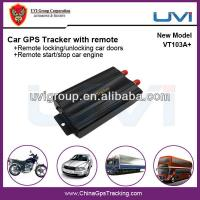 Buy cheap Universal Vehicle GPS Tracker With Dual Fuel Sensor Monitoring from wholesalers