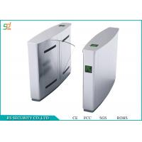 Wholesale Enter Exit Automated Flap Turnstile / Security High Speed Flap Barrier Turnstile from china suppliers