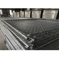 Buy cheap Construction Fence Panels 6'x12' 35mm outer tube cross brace Mesh 57mm x 57mm diameter 2.80mm from wholesalers