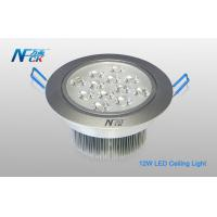 Wholesale 12W Aluminum Dimmable LED Ceiling Lights 240V , Led Lights Recessed Ceiling from china suppliers