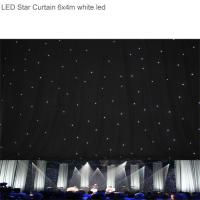 Wholesale LED Star Curtain / Led Star Cloth Wedding Backdrop for Stage Backdrop Decoration from china suppliers