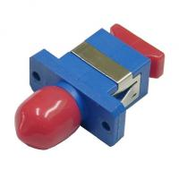 Wholesale Hybrid FC / SC / LC Fiber Optic Adapter Single Mode Pc Material For CATV System from china suppliers