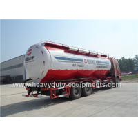 Wholesale powder material transport semi trailer with 12200mm tank long length from china suppliers